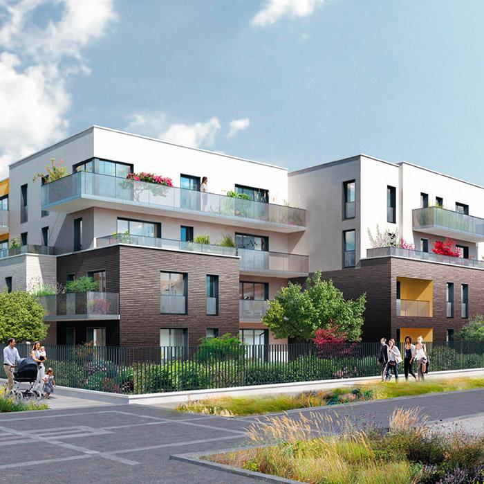 Le programme immobilier neuf Les Fleurs d'O