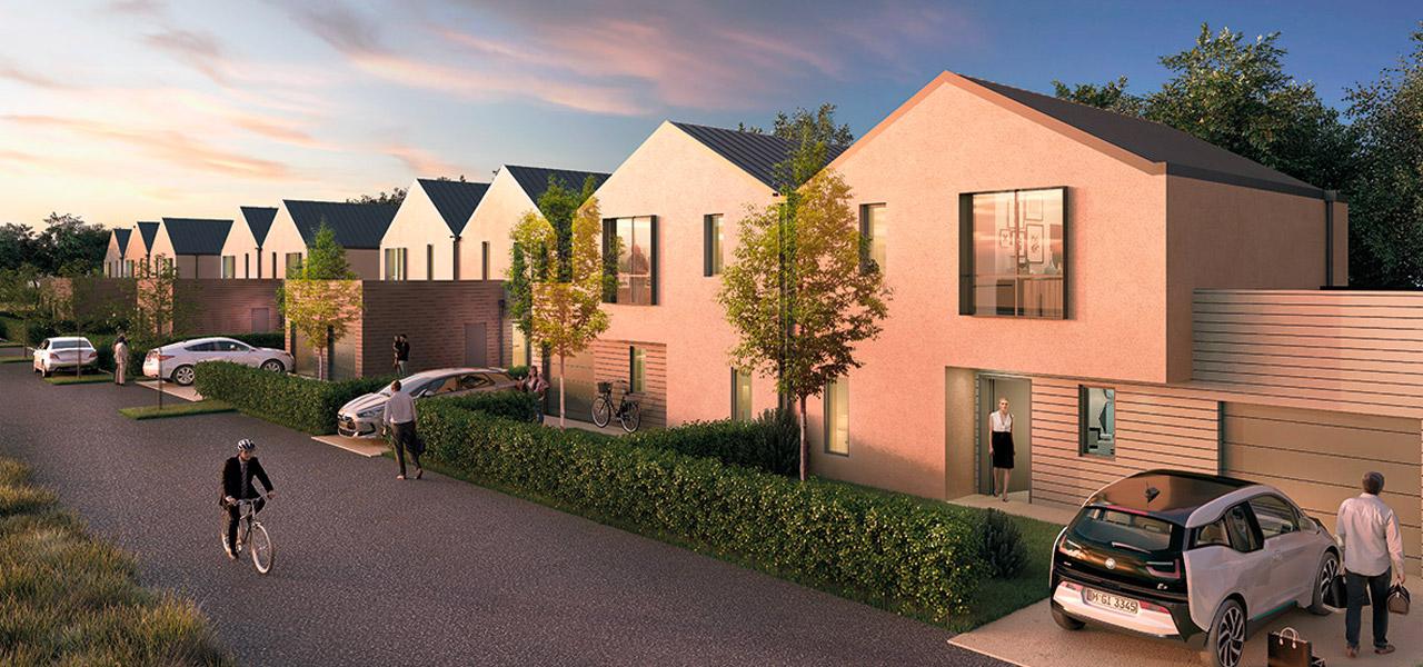 Les maisons du programme immobilier neuf Jardins NEO