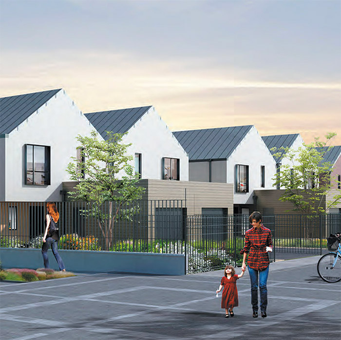 Le programme immobilier neuf Jardins NEO